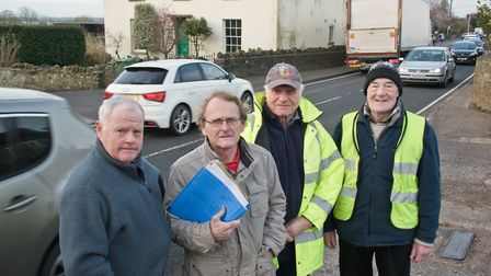 Tickenham Road Action Group said the halt to the JSP hearings is 'good news'. Picture: MARK ATHE