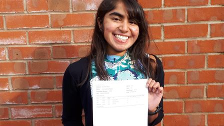 A-level student Jemma Mayler won a place at Oxford. Picture: Backwell School