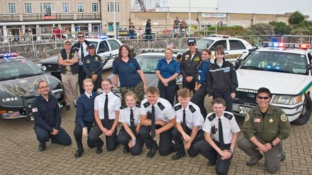 American Mustang muscle car show raises money for Weston Police Cadets. Picture: MARK ATHERTON