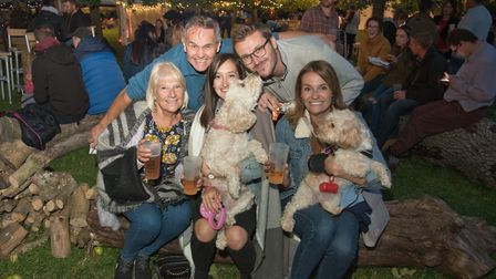 Cider and music festival at Ashgrove Farm, Sand in aid of the air ambulance. Picture: MARK ATHER