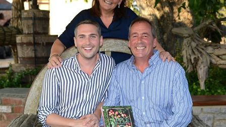 James Rich has released his debut book, Apple: Recipes From The Orchard.Picture: Richs Cider Farm