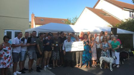 Draycotts Strawberry Special Inn raised £4k for village services.Picture: Strawberry Special Inn