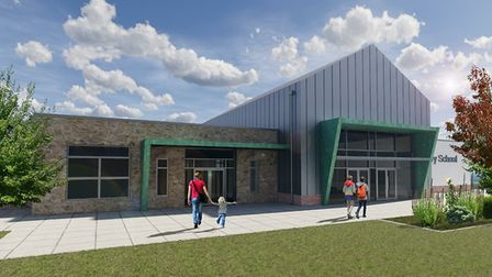 An artist's impression of what the school will look like. Picture: North Somerset Council