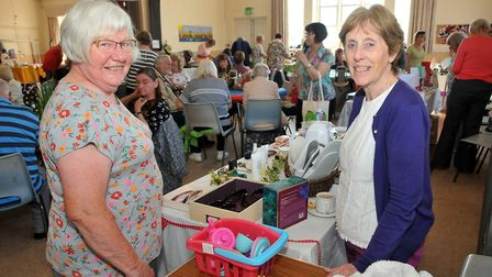 Summer market hosted by Weston Homemakers at Victoria Methodist Church.17,08,19