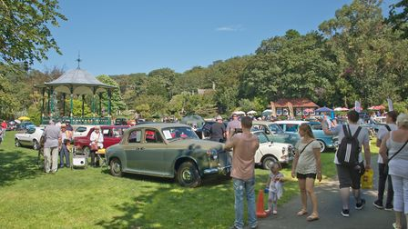 Weston Classic car show in Grove Park. Picture: MARK ATHERTON