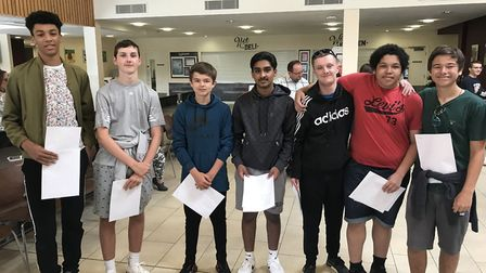 St Katherine's School GCSE results day 2019.