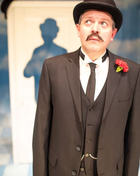 Miles Jupp as David Tomlinson. Picture: Piers Foley