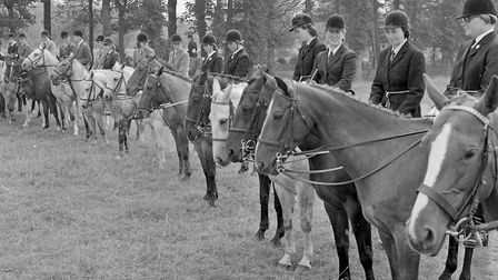 Competitors lining up for the Handy Pony event at Brent Knoll Open Gymkhana. Picture: WESTON MER