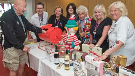 Tombola at the Family fun day at Somerset Legion House, in Beach Road. Picture: MARK ATHERTON