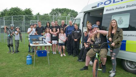 Police will host their reward scheme and sports taster sessions at Millennium Park. Picture: Mark At