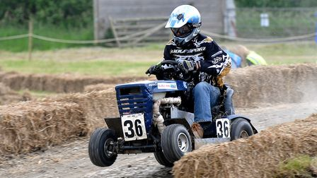 Lawn mower races will commence in Cross this weekend.Picture: Jeremy Long