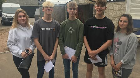 Clevedon School is celebrating 'outstanding' GCSE results.