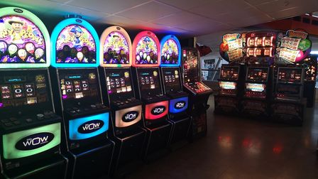 Westons Grand Pier bans under-16s from using selected slot machines.Picture: Westons Grand Pier