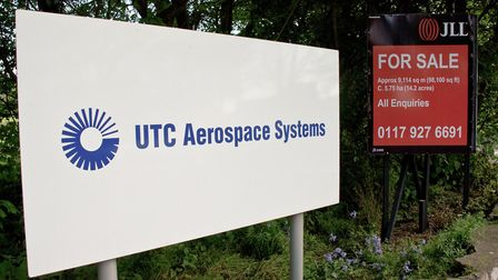 UTC Aerospace in Claverham which was up for sale.