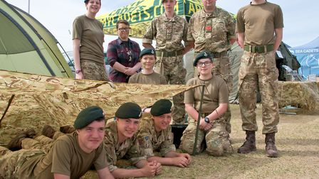 Weston Army Cadets.Picture: Mark Atherton