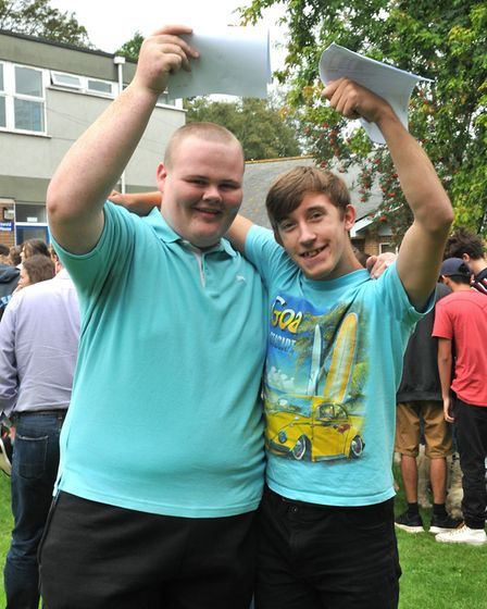 John and ZacBackwell School GCSE Results22,08,19