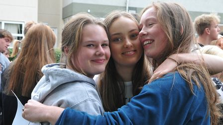 Izzy, Rowan and JessBackwell School GCSE Results22,08,19