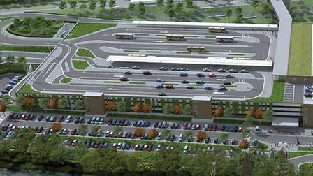 What the airport may one day look like. Picture: Bristol Airport