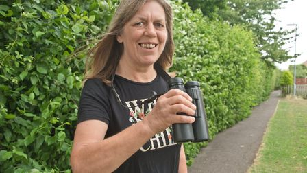 Julie Hitchens who is setting up Wild Weston. Picture: MARK ATHERTON