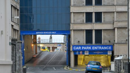 The car park will remain open, with the exception of level one. Picture: Mark Atherton