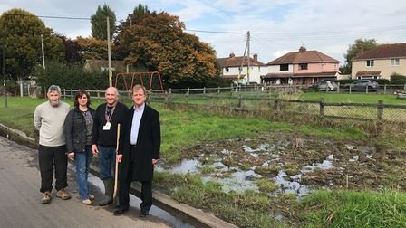 Banwell Parish Councillors are calling on authorities to tackle the 'Riverside swamp'.