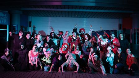 The Grand Piers Halloween Unfairground will open next month.Picture: Westons Grand Pier