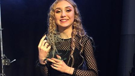 Kezia Povey fought off competition from 12,000 people to reach the Open Mic UK grand final.