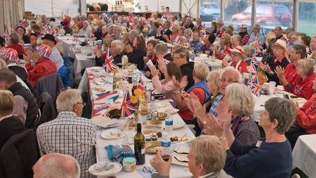 A Night at the Hutton Proms, in the marque at St Mary's Field. Picture: MARK ATHERTON