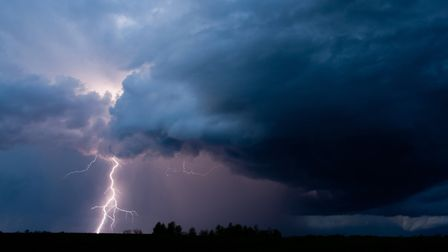 Thunderstorms predicted for the North Somerset. Picture: Getty Images