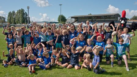 Weston Rugby Football Clubs Family Fun Day at the towns Recreation Ground.Picture: MARK ATHERTON