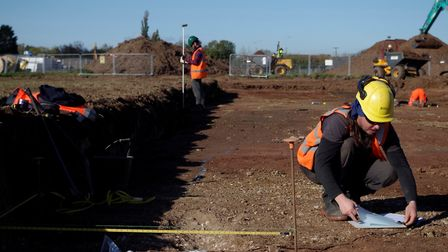 The dig took place in Yatton in 2017 and 2018. Picture: North Somerset Council