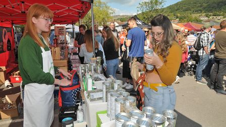 Cheddar Food and Drink Festival 2019.Picture: Jeremy Long