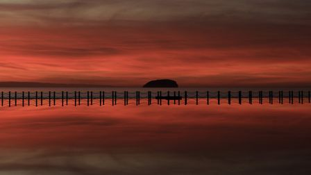 Shepherds delight at Kightstone walkway.Picture: Charlie Ross