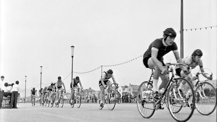 Weston seafront cycle racing organised by Weston Wheelers Cycling Club. Picture: WESTON MERCURY