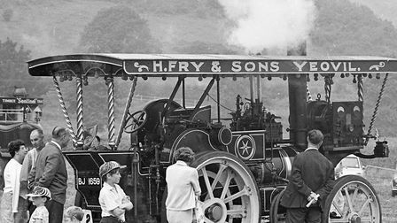 Nearly 5,000 people attended the a traction engine show and rally held near Cheddar reservoir and or