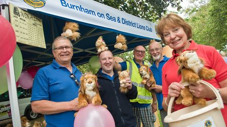 Burnham on Sea and District Lions at the Manor Gardens family fun day. Picture: MARK ATHERTON