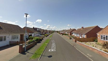 Harding has been charged with committing burglaries at homes in Rosewood Avenue. Picture: Google