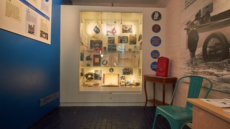 Exhibition of Citizens Advice in Weston museum