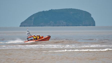 Weston RNLI open day displays by Weston and Barry Lifeboat crews. Picture: MARK ATHERTON