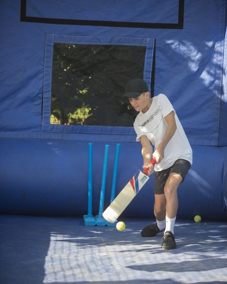 Cricket skills with Somerset County Cricket