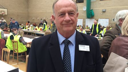 Cllr Nigel Ashton retained his seat for Gordano Valley in May's local election. Picture: BBC