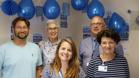 Hospice launches Wear It Blue campaign.