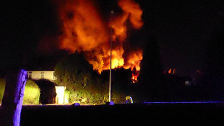 Firefighters were called just after 2am. Photo: Clive Burlton