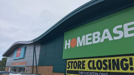 Homebase shares retail space with Argos, which will not be affected by the closure. Picture: Henry W
