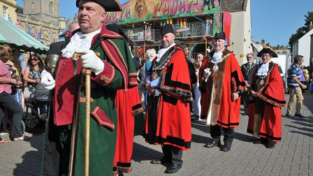 Axbridge Blackberry Carnival procession.Picture: Jeremy Long
