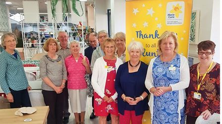 The thank you event was held at the Cadbury Garden Centre
