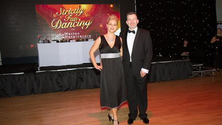Angie and Stuart won the contest in March.