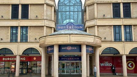 Weston's Sovereign Shopping Centre could be used for a new town centre health hub. Picture: Mark Ath