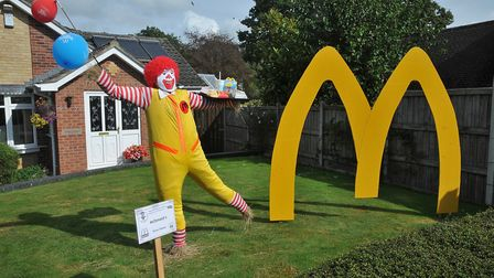 McDonalds by the Dixon family.Picture: Jeremy Long
