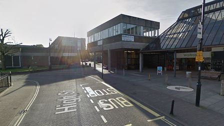 Where the incident took place. Picture: GoogleMaps